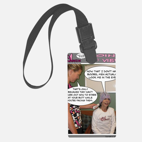 2-Point Of View Luggage Tag