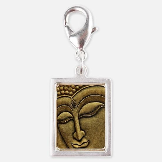 Buddha Silver Portrait Charm