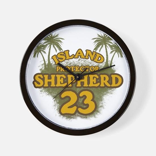 shepherd23_green Wall Clock