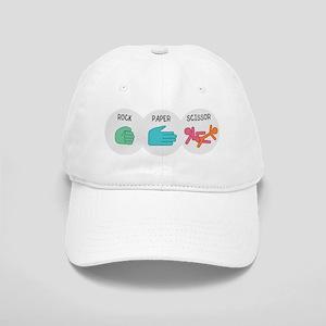 rockpaperscissor_black Cap
