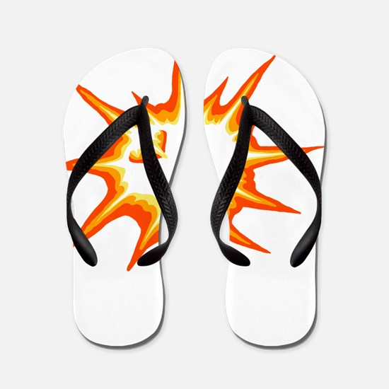 Total Eclipse of the Heartorange Flip Flops