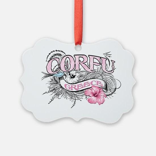 corfu_t_shirt_tatoostyle Ornament