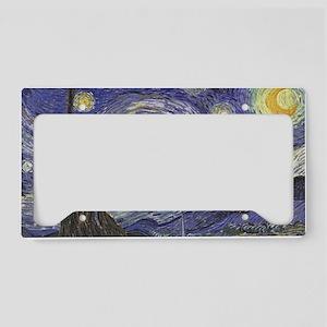 Starry Night License Plate Holder