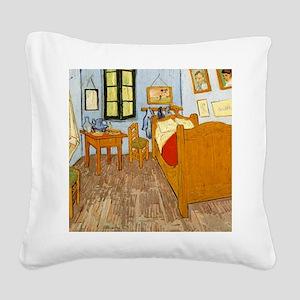 Vincents Room Square Canvas Pillow