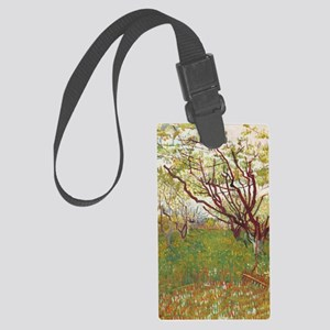 Cherry Tree Large Luggage Tag