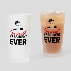 ART 2 JFK Sexiest Drinking Glass