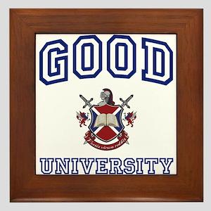 GOOD University Framed Tile