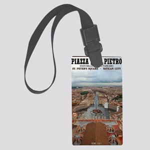 Vatican City - St Peters Square Large Luggage Tag