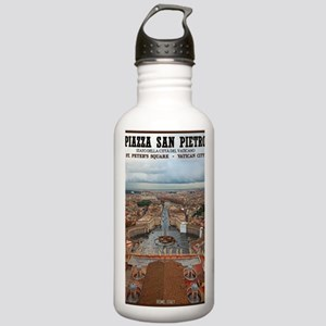 Vatican City - St Pete Stainless Water Bottle 1.0L