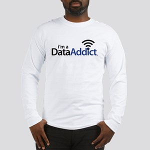 Data Addict Long Sleeve T-Shirt