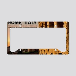 Rome - Roman Forum Sunset License Plate Holder