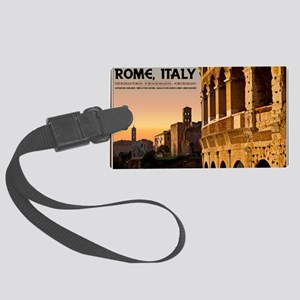 Rome - Roman Forum Sunset Large Luggage Tag