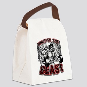 Unleash The Beast 2 Canvas Lunch Bag