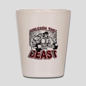 Unleash The Beast 2 Shot Glass
