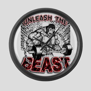 Unleash The Beast 2 Large Wall Clock
