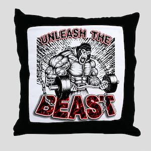 Unleash The Beast 2 Throw Pillow