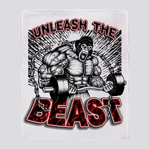 Unleash The Beast 2 Throw Blanket