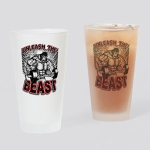 Unleash The Beast 2 Drinking Glass