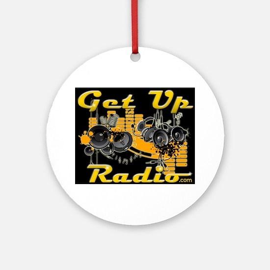 getupradio-sweater 1 Round Ornament