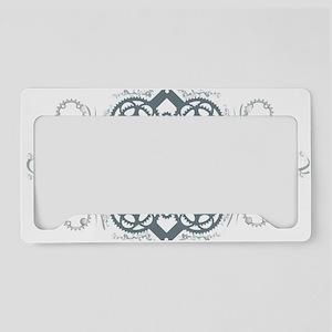 circles_blue License Plate Holder