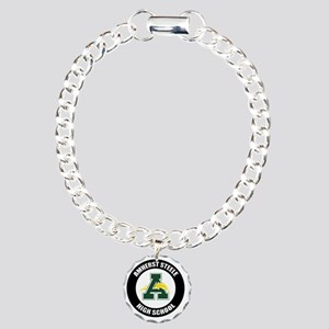 AMS_Logo_T Charm Bracelet, One Charm
