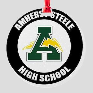 AMS_Logo_T Round Ornament