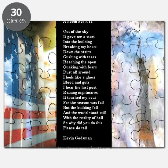 A Poem For 911 WWS Zoomed Puzzle