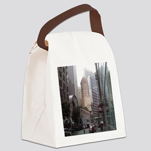 Hobart Building Canvas Lunch Bag
