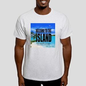 Welcome to the Island Smoke Detector Light T-Shirt