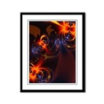 Eyes & Swirls Framed Panel Print