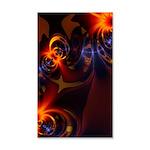Eyes & Swirls 35x21 Wall Decal