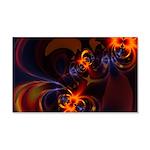 Eyes & Swirls 20x12 Wall Decal