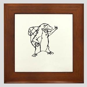 Christian Homeschool Platypus Pride! Framed Tile