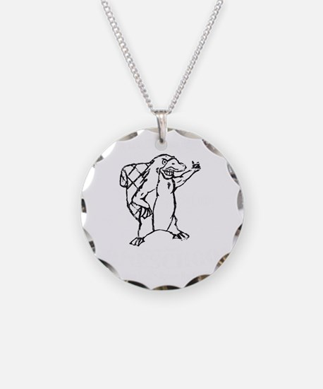 Christian Homeschool Platypu Necklace