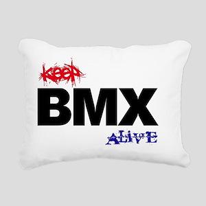 Keep BMX Alive - shirt Rectangular Canvas Pillow