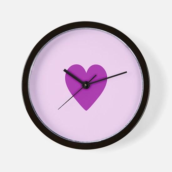 "Love ""heart"" Wall Clock"
