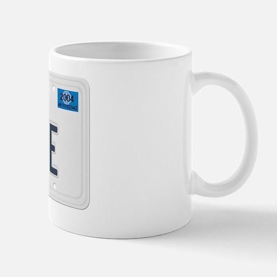 lostielicenseplaterealsticker Mug