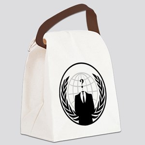 anon Canvas Lunch Bag