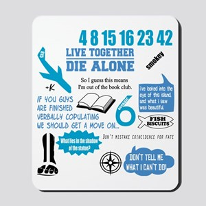 lost-quotes-FORDARKS Mousepad