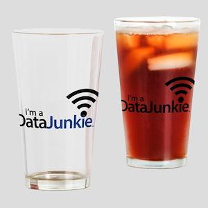 Data Junkie Drinking Glass
