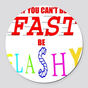 FASTFLASH copy Round Car Magnet