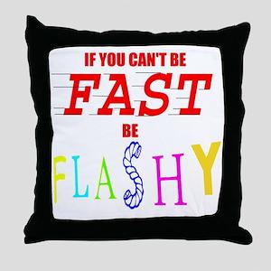 FASTFLASH copy Throw Pillow