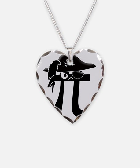 pirate Necklace Heart Charm
