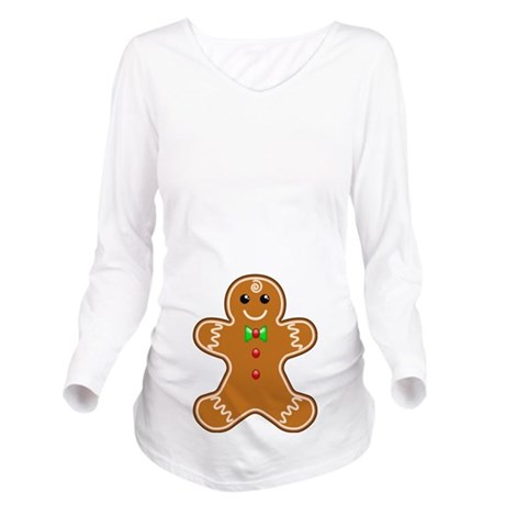 Gingerbread Maternity Tee