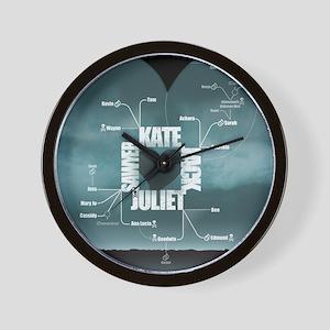 2-LostLoveDiagram Wall Clock