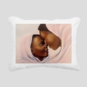 Mothers Moment12x9 Rectangular Canvas Pillow