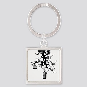 Roots Square Keychain