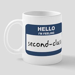 Feeling second-class Mug