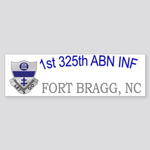 1st 325th abn inf cap Sticker (Bumper)