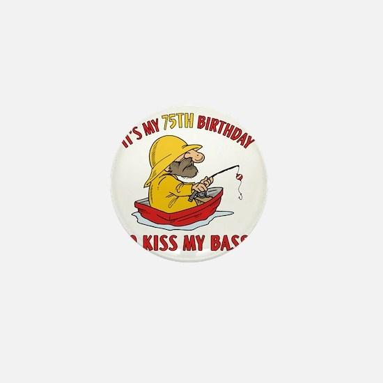 kissmybass75 Mini Button